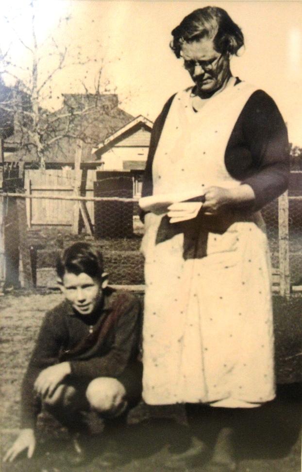 Moore, Caroline & son Jack circa 1933 small