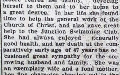 An Exemplary Wife and a Fond Mother